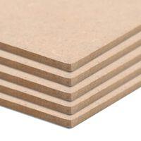 vidaXL MDF-plaat 20 tk ruudukujuline 60 x 60 cm 2,5 mm