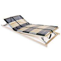 vidaXL voodi aluspõhi, 42 liistu, 7 piirkonda, 80 x 200 cm