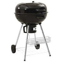 313358 vidaXL söe BBQ grill 73 x 58 x 96 cm, teras