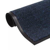 vidaXL uksematt, kandiline, 120 x 180 cm, sinine