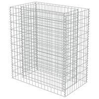 vidaXL gabioon-taimelava, tsingitud teras, 90 x 50 x 100 cm
