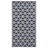 vidaXL õuevaip, must, 80 x 150 cm, PP