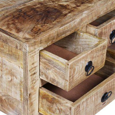 vidaXL kohvilaud töötlemata mangopuidust 70 x 70 x 40 cm