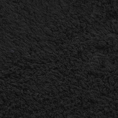 vidaXL 2-osaline vannitoamattide komplekt, kangas, antratsiit