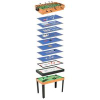 vidaXL 15 ühes mitme mängu laud 121 x 61 x 82 cm, vaher