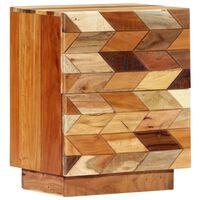 vidaXL öökapp 40 x 30 x 50 cm toekas taaskasutatud puit