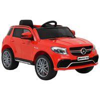 vidaXL laste mänguauto Mercedes Benz GLE63S, plast, punane