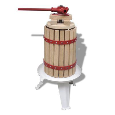 vidaXL puuvilja- ja veinipress, 6 l