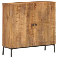 vidaXL puhvetkapp, 75 x 30 x 75 cm, toekas mangopuit