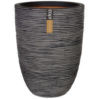 "Capi vaas ""Nature Rib"" elegantne, madal, 46 x 58 cm antratsiithall"