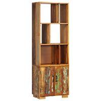 vidaXL raamaturiiul, 60 x 35 x 180 cm, toekas taastatud puit