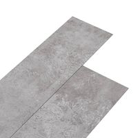 vidaXL PVC-st põrandalauad 5,26 m², 2 mm maahall