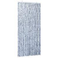 vidaXL putukakardin hõbedane 100 x 220 cm šenill