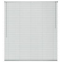 vidaXLi alumiiniumist aknakatted 120 x 160 cm, hõbedane