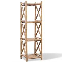 4 tasapinnaga kandiline bambusriiul