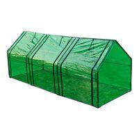 vidaXLi kasvuhoone 3 uksega