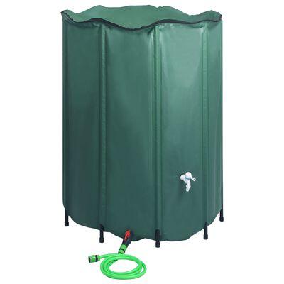 vidaXL kokkupandav vihmaveepaak kraaniga 1250 l