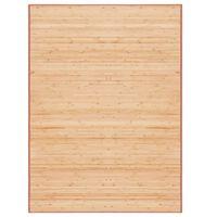 vidaXL bambusvaip 160 x 230 cm, pruun