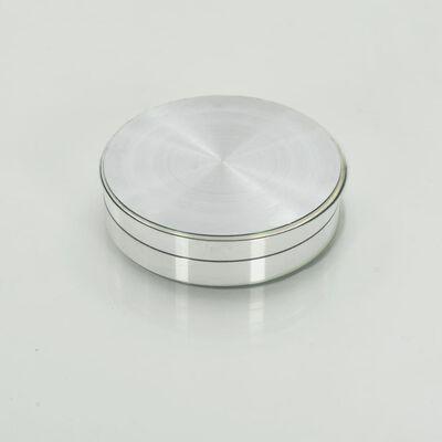 vidaXL pöörlev serveerimisplaat, läbipaistev, 60 cm, karastatud klaas
