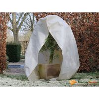 Nature talve fliiskate lukuga 70 g/m² beež 2 x 2,5 m