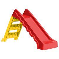 vidaXL kokkupandav liumägi lastele tuppa ja õue, punane ja kollane