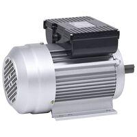 vidaXL 1-faasiline elektrimootor alumiinium 1,5 kW/2 hj 2800 p/min