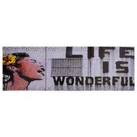 vidaXL seinamaalikomplekt lõuendil, Wonderful, värviline, 120 x 40 cm