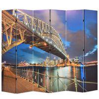 vidaXL kokkupandav sirm 228 x 170 cm, Sydney sadama sild