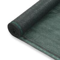 vidaXL tenniseväljaku võrk, HDPE, 1,8 x 50 m, roheline