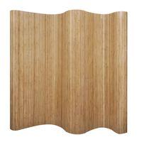 vidaXLi Bambusest ruumijagaja naturaalne 250 x 165 cm