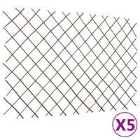 vidaXL pajust võreaiad 5 tk, 180 x 120 cm
