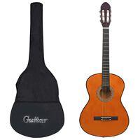 """vidaXL klassikaline kitarr algajatele kotiga 4/4 39"""""""
