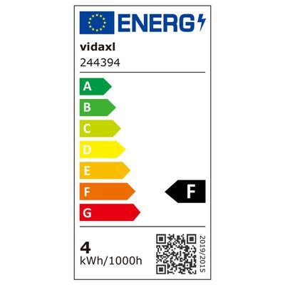 vidaXL laelamp 2 LED-hõõglambiga 8 W