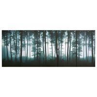 vidaXL seinamaalikomplekt lõuendil, puud, värviline, 150 x 60 cm