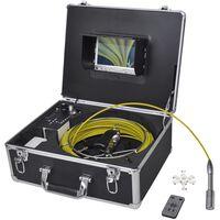 Torukontrollimiskaamera 30 m digitaalse videosalvesti kontrollkarbiga