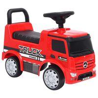 vidaXL laste mängu veoauto Mercedes Benz, punane