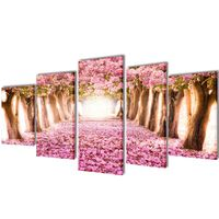 Seinamaalikomplekt kirsiõitega, 100 x 50 cm