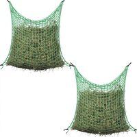 vidaXLi kandilised heinavõrgud 2 tk 0,9 x 1,5 m PP