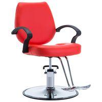 vidaXL juuksuritool, kunstnahast, punane