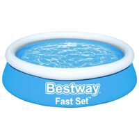 Bestway Fast Set täispumbatav bassein ümmargune 183x51 cm, sinine