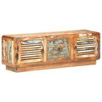 vidaXL telerikapp, 120 x 30 x 40 cm, toekas taaskasutatud puit