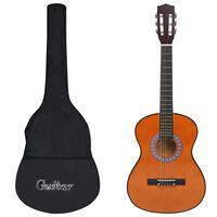 """vidaXL klassikaline kitarr algajatele kotiga 3/4 36"""""""
