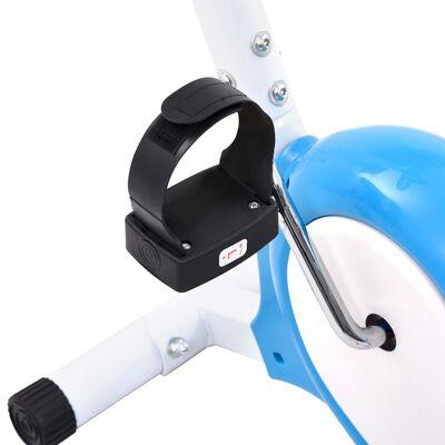 vidaXL veloergomeeter, rihmaga vastupanu, sinine