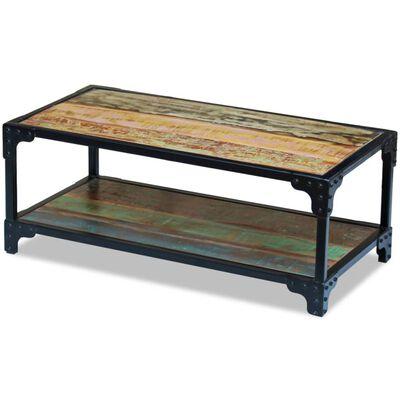 vidaXL kohvilaud taastatud puidust