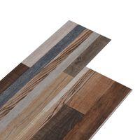 vidaXL PVC-st põrandaplaadid, 4,46 m² 3 mm, mitmevärviline