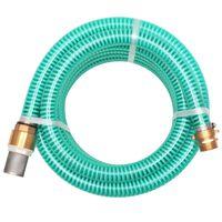vidaXL imivoolik messingust ühendustega, 15 m, 25 mm, roheline