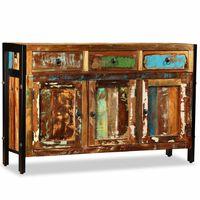 vidaXi taaskasutatud puidust puhvetkapp 120 x 35 x 76 cm