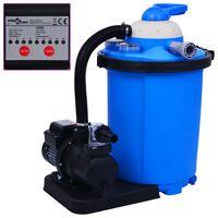 vidaXL liiva filterpump taimeriga 550 W 50 l