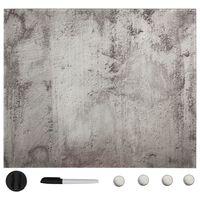 vidaXL seinakinnitusega magnettahvel, klaas 60 x 60 cm