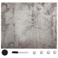 vidaXL seinakinnitusega magnettahvel, klaas 50 x 50 cm